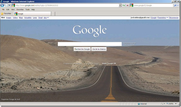 Google Background Explorer